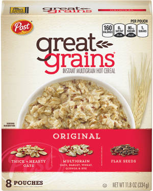 Great Grains Instant Multigrain Hot Cereal