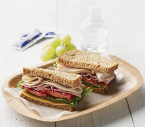 Club Sandwich with Jennie-O Turkey Store Lunchmeat