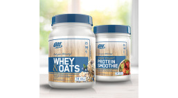 Optimum Nutrition Greek Yogurt Protein Smoothie and Whey & Oats