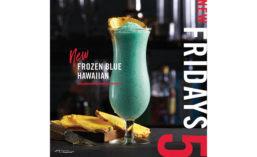 Frozen Blue Hawaiian Beverage