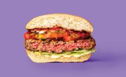Impossible Foods Half-Burger