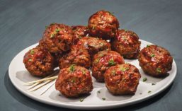Poulson Meat Analog Meatballs