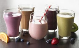 Fruit-and-grain Shakes