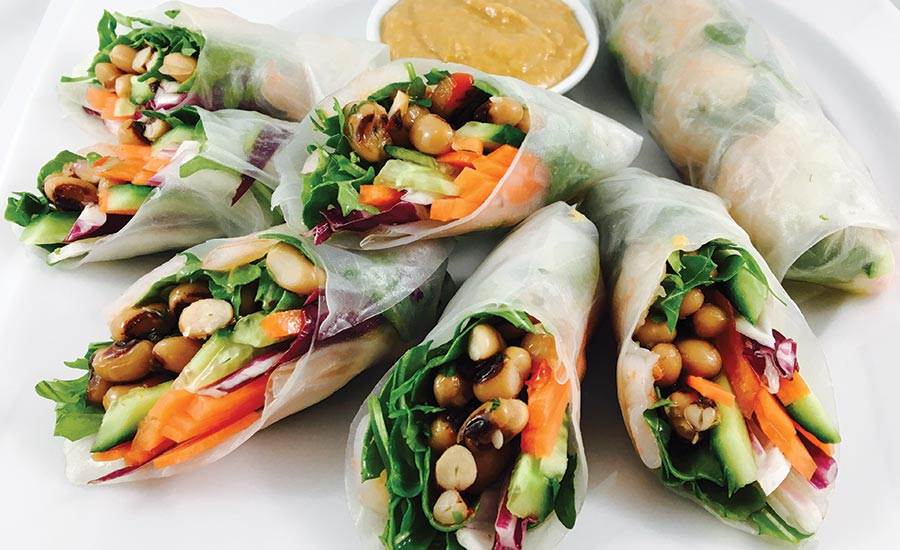 Pulse Salad Wraps