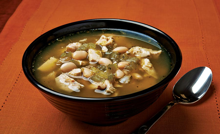 Soup with White Kidney Beans