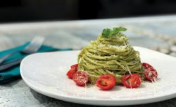 Carso's Angel Hair and Pesto