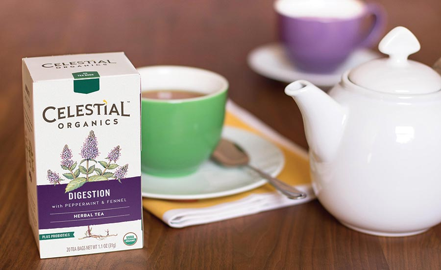 Celestial Organics Herbal Tea for Digestion