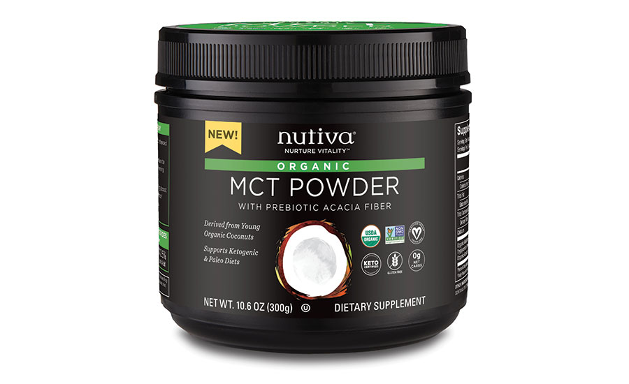 Nutiva Inc. USDA Certified Organic MCT Powder