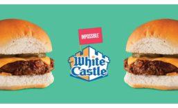 White Castle Impossible Slider Plant-based Burger