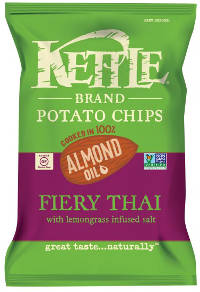 Kettle Brand Potato Chips with Almond Oil