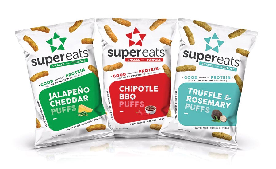 SuperEats High Protein Puffs