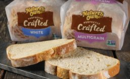 "Nature's Own Flower Foods ""Perfectly Crafted"" Bread"