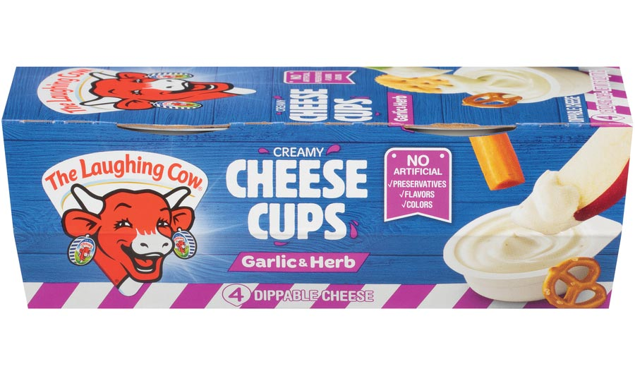 The Laughing Cow Garlic & Herb Cheese Cups