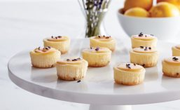 Honey Lavender Cheesecake Bites