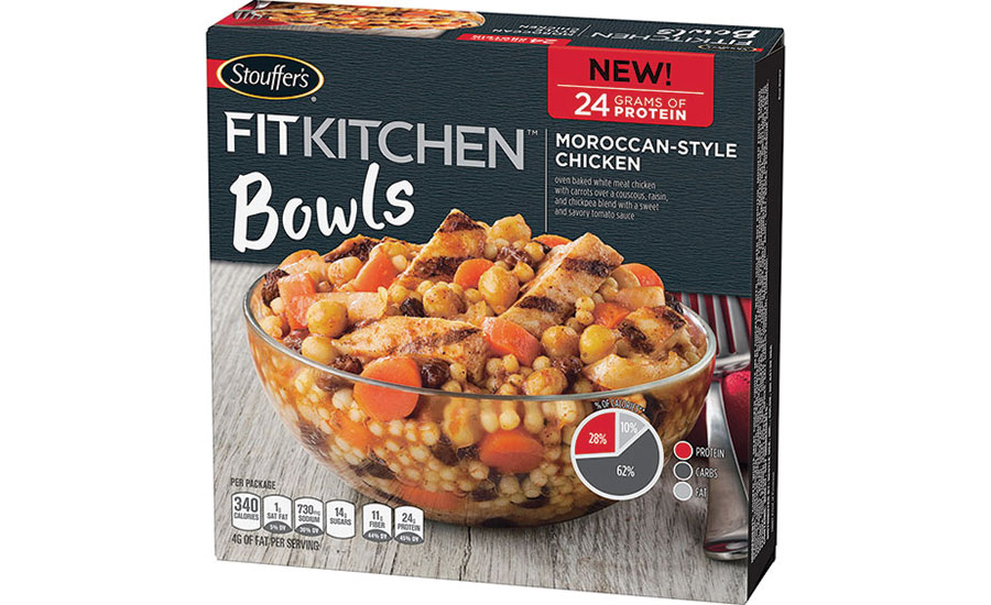 Stouffer's Fit Kitchen Moroccan-Style Chicken Bowl