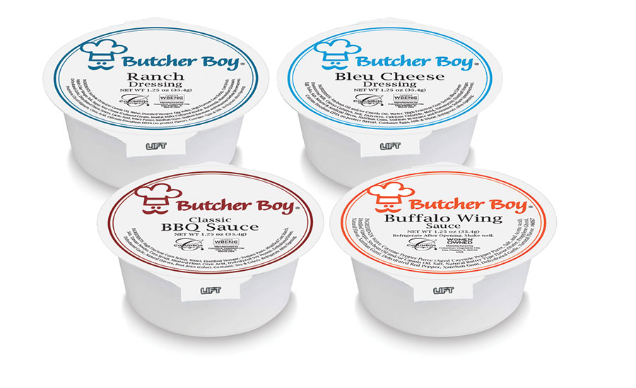 Butcher Boy To-Go Sauces and Dips Cups