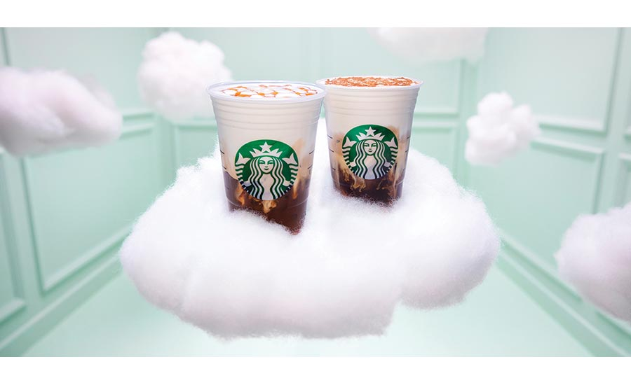 Starbucks Cloud Macchiato Iced Coffee