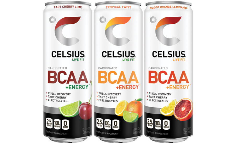Celsius BCAA + Energy Beverages