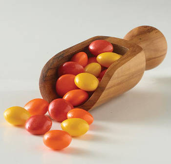 Red, Orange, and Yellow Candies