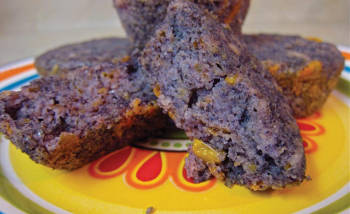 Purple Corn Muffins