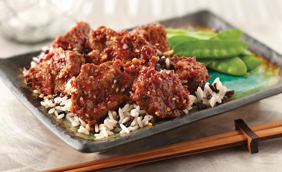Sesame Beef and Rice