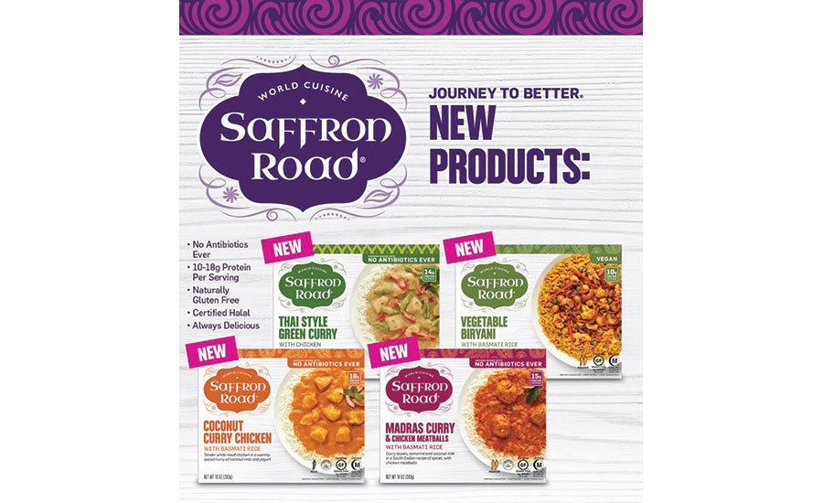 Saffron Road New Products