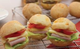 Slider Buns Made With Cassava Flour