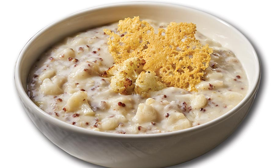 Campbell's Reserve Creamy Cauliflower, Quinoa and Fontina Soup