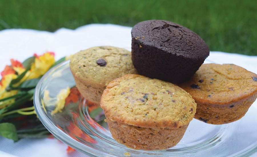Muffins Made with Vegetables