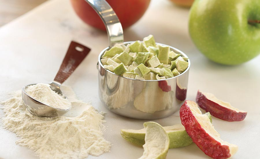 Freeze-Dried Apples
