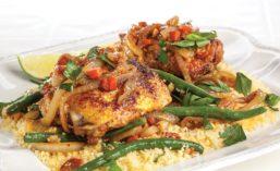 Dish Seasoned with Berbere