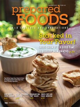 Prepared Foods August 2020 Cover