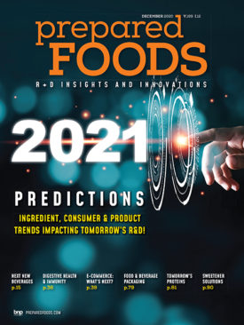 Prepared Foods December 2020 Cover
