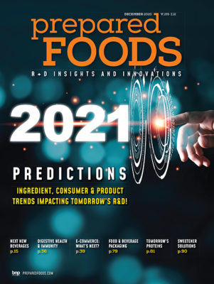 Prepared Foods December 2020 Cover