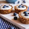 Mini Blueberry Granola Muffins