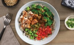 Ginger Sesame Chicken Bowl