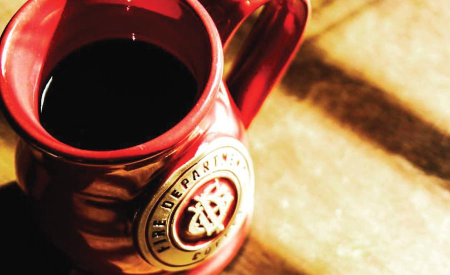 Red Mug of Coffee