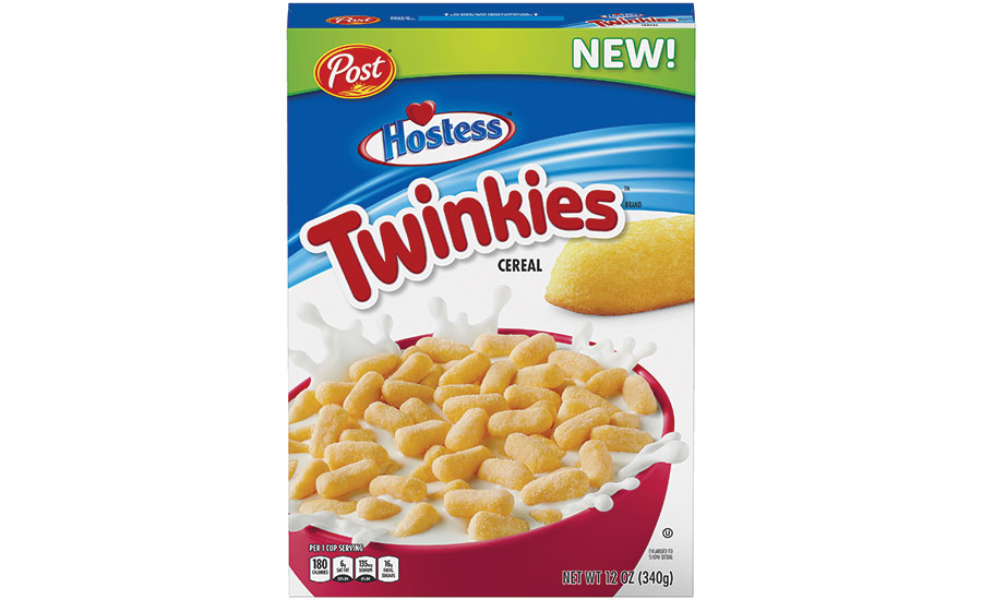 Post Consumer Brands and Hostess Twinkies Cereal
