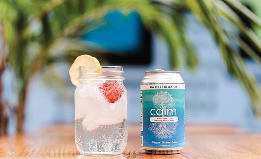 Calm Sparkling Herbal Water