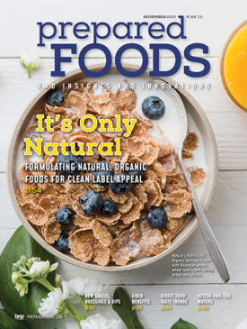 Prepared Foods November 2020 Cover
