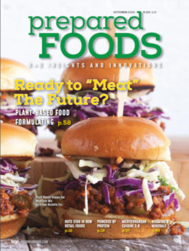 Prepared Foods October 2020 Cover