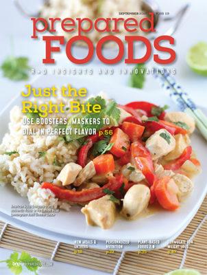 Prepared Foods September 2020 Cover