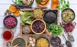 Assorted Tea Herbs and Blends