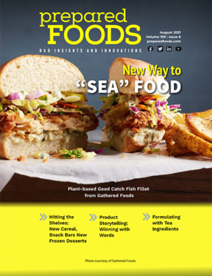 Prepared Foods August 2021 Cover