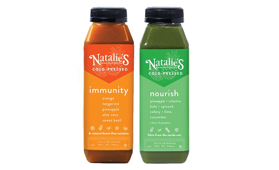 Natalie's Orchid Island Nourish and Immunity Juices