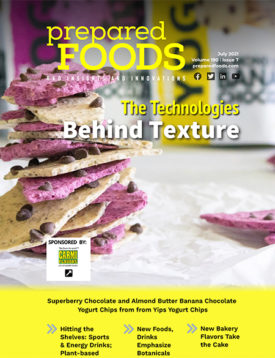 Prepared Foods July 2021 Cover