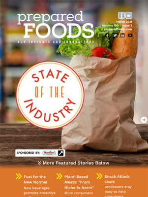 Prepared Foods March 2021 Cover