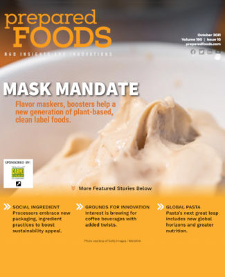 Prepared Foods October 2021 Cover