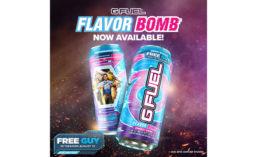 G FUEL Flavor Bomb Energy Drink
