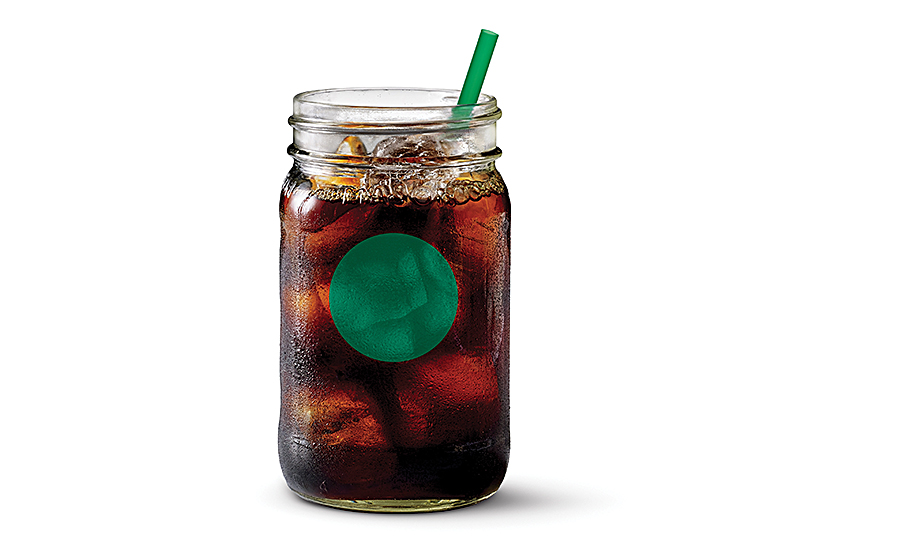 Cold brew coffee beverages
